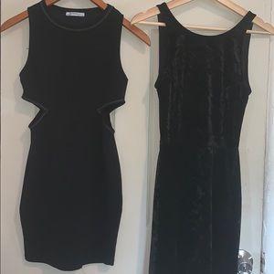 Two Black Mini Dresses Bundle 🖤🌟